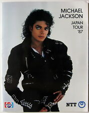 MICHAEL JACKSON Bad 1987 ORG JAPAN Concert Program MINTY!