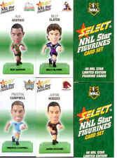 2008 Select NRL Color Figurine CARDS Full Set (48)
