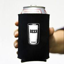 """""""Beer"""" Can Neoprene Koozie Koolie Cooler Insulator Pop Soda Funny Party meta ale"""