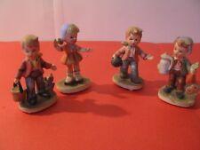 Vintage Napco Figurines 2- C7365,2- C7364 3 1/2 inches tall
