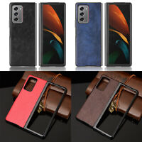 Luxury Leather Hard Case Cover Shockproof For Samsung Galaxy Z Fold 2 5G