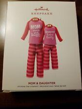 Hallmark Keepsake Ornament 2019 Mom & Daughter Pajamas Htf Rare! New
