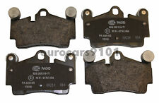 New! Volkswagen Hella-PAGID Rear Disc Brake Pad Set 355018711 7L0698451H