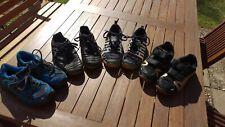 4 Paar Sportschuhe und Sneaker Größe 33 / Puma/Quechua/Adidas/Kipsta