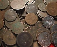 SELECTION 5 GEORGIAN COINS INCLUDING 1797 CARTWHEEL PENNY MAINLY LOW GRADE