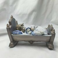 Lladro 5717 Rock A Bye Baby Retired! Mint Condition! No Box! L@@K! Lovely Gift!