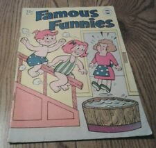 COMIC BOOK FAMOUS FUNNIES NO. 17 SUPER COMICS REPRINTED IN U,S.A. 1964