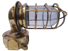 Vintage PAULUHAN Marine Wall Mount Brass Passage Light / Lamp – USA (242)