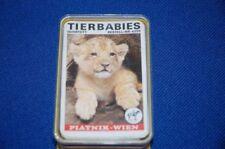 Tierbabies Quartett Spiel Kartenspiel Piatnik Wien Spielkarten 1970er Spielzeug