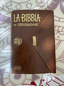 LA BIBBIA DI GERUSALEMME, Edizione tascabile con bottone, EDB