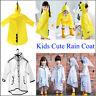 Kids Rain Coat Children Raincoat Rainwear Waterproof Cute Dinosaur Rainsuit