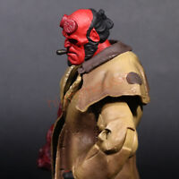 "Mezco Hellboy Golden Army Smoking 7"" Action Figure Collection Series 2 Doll"