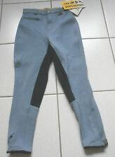 HKM  Kinderreithose,Vollbesatz,hellblau Gr. 140, (3559)