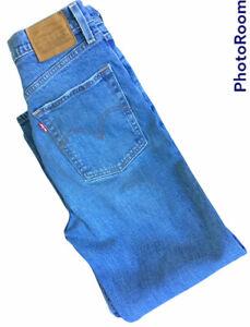 🌺Levis Ribcage Straight Stretch Jeans Waist 29 Leg 26🌸