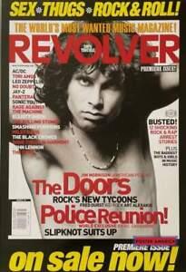 Revolver Magazine Reproduction Featuring Jim Morrison Poster 24 X 35  Jim Morris