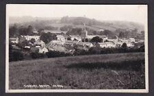 Devon SIDBURY Panoramic view used 1950 RP PPC