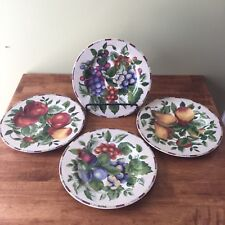 """Sakura Casual Dining By Oneida Sonoma Excell Fruit Plate 8"""" Set of (4)"""