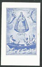 image pieuse ancianne de la Virgen de la Caridad del Cobre santino estampa