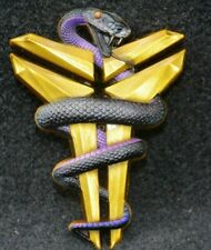 Kobe Bryant Black Mamba Metal Logo Gold