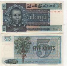 Birmanie - 5 Kyats - Neuf - UNC