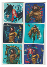 "25 Aquaman Stickers, 2.5"" x 2.5"" each, Party Favors"