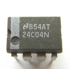 24C04N 4K 5.0V I2C™ Serial EEPROM 512kx8 8-Pin PDIP