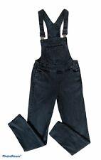 Refuge Overall Bibs Jumpsuit  Size 4 Bib Overalls Black Skinny Leg