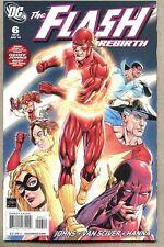 Flash Rebirth #6-2010 nm- Standard cover Reverse Flash Zoom Geoff Johns last is