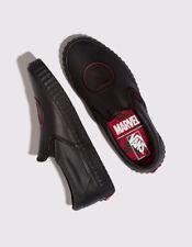 Vans x Marvel Classic Slip-On Black Widow Shoes VN0A38F7U7K NWB Wm 6.5  Men 5.0