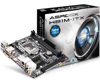ASRock H81M-ITX Mini ITX Sockel 1150 Intel 4790K READY! ASUS MSI GIGABYTE