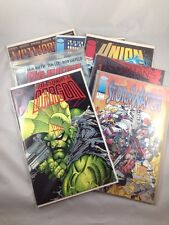 Image Comics Mixed Lot of 7 #1 Issues 1990s Savage Dragon Wetworks Stormwatch
