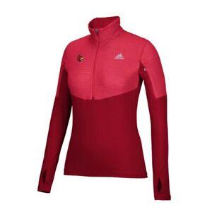 Louisville Cardinals NCAA Adidas Women's Red Climalite Light Weight Fleece