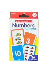 36 Flash Cards - For Toddler Kids - Learning Numbers - Bendon