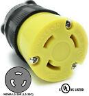 NEMA L5-30R 30A 125V Locking Female Receptacle Replacement Plug RV 3Prong 30amp