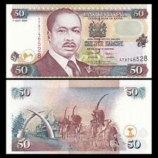 Kenya 50 Shillings, 2000, P-36e, UNC