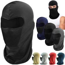 One Hole Men Balaclava Full Face Mask Mouth Cover Bike Ski Sports Head Wear Lot