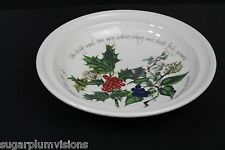 """Portmeirion THE HOLLY AND THE IVY: Soup Plate 8""""  New"""