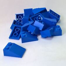 *NEW* 50 Pieces Lego BLUE Slope 33 3x2 3298