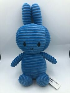 Official Miffy Collection Nijntje Blue Bunny Rabbit Plush Stuffed Toy Animal