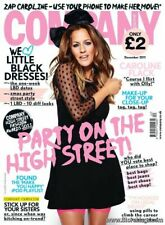 NEW & SEALED COMPANY MAGAZINE WOMEN'S/FASHION CAROLINE FLACK DECEMBER 2011