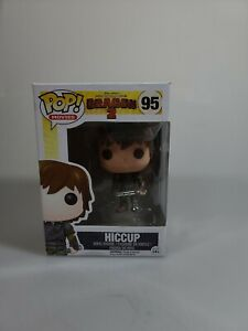 FUNKPOP HOW TO TRAIN YOUR DRAGON 2 MOVIE FIGURE HICCUP #95 NON MINT BOX BRANDNEW