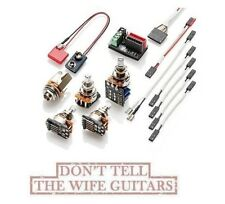 EMG Solderless Conversion Wiring Kit 1-2 Pickups Includes 1 -PPP Push / Pull Pot
