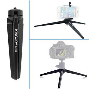 KT30 Metal Tabletop Desktop Mini Tripod Portable For Camera Photography f