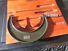 """Vintage Lufkin Micrometer. Model 1946. 5"""" - 6""""."""