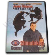 Japan Ninjutsu Shinobi ken Koga Ryu Ninja Juan Hombre Dvd secret ninjiutsu skill
