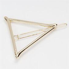 Triángulo Geométrico Cabello Clip-Moon Boho Círculo Boda Joyería - 4 forma de elección