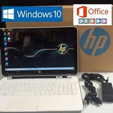 "HP 15.6"" Windows 10 (OPTIMIZED) Laptop 2.0Ghz 8GB RAM 750GB + Microsoft Office"