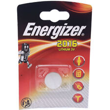 ONE ENERGIZER 2016 CR2016 DL2016 Lithium 3V Coin Cell  Free 1st Class post UK