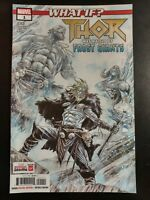 WHAT IF? THOR #1a (2018 MARVEL Comics) ~ VF/NM Book