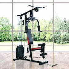 Kraftstation Fitnessstation Multigym Fitnessgerät Heimtrainer Latzug Beincurl